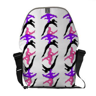 La bolsa de mensajero del carrito cero del gimnast bolsa de mensajería