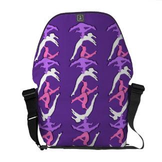 La bolsa de mensajero del carrito cero del gimnast bolsas messenger