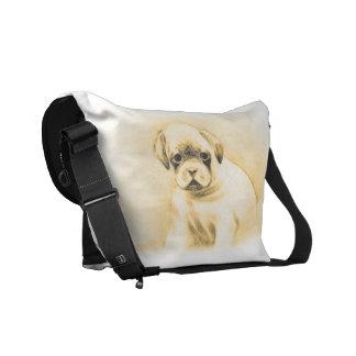 La bolsa de mensajero del carrito cero del perro d bolsa messenger