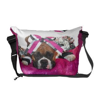 La bolsa de mensajero del carrito cero del perro d bolsas de mensajería
