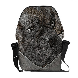 La bolsa de mensajero del carrito cero del perro d bolsas messenger