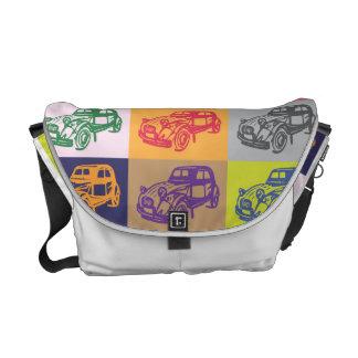 La bolsa de mensajero del carrito de Citroen 2CV Bolsa De Mensajeria