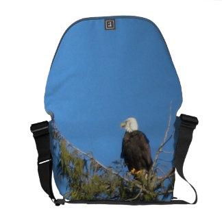 La bolsa de mensajero del carrito de Eagle calvo Bolsas De Mensajeria