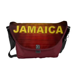 La bolsa de mensajero del carrito de Jamaica Bolsa De Mensajeria