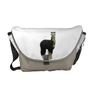 La bolsa de mensajero del carrito de la alpaca del bolsas de mensajería