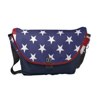 La bolsa de mensajero del carrito de la bandera am bolsa de mensajeria