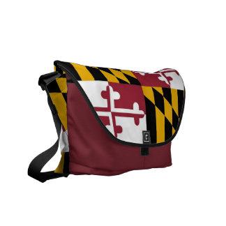 La bolsa de mensajero del carrito de la bandera bolsa messenger