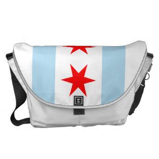 La bolsa de mensajero del carrito de la bandera de bolsa de mensajeria