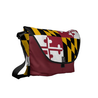 La bolsa de mensajero del carrito de la bandera de bolsa messenger