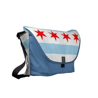 La bolsa de mensajero del carrito de la bandera de bolsas de mensajería