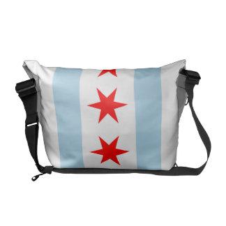 La bolsa de mensajero del carrito de la bandera de bolsas de mensajeria