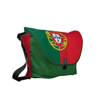 La bolsa de mensajero del carrito de la bandera de bolsas messenger