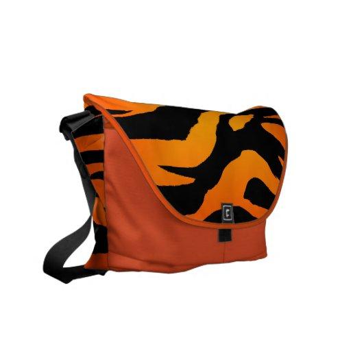 La bolsa de mensajero del carrito de la cebra del  bolsas de mensajería