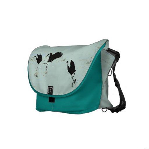 La bolsa de mensajero del carrito de la danza de l bolsa de mensajeria