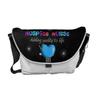 La bolsa de mensajero del carrito de la enfermera bolsas messenger