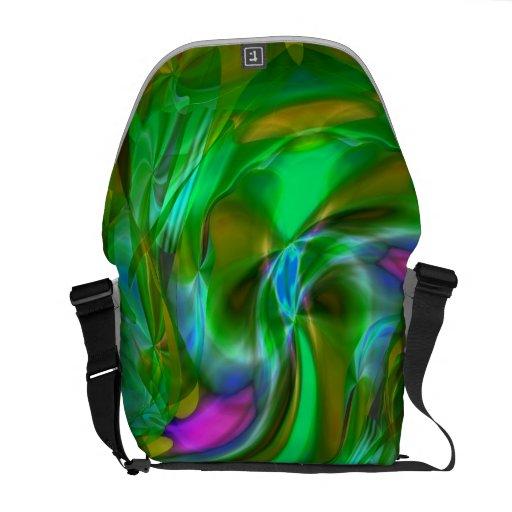 La bolsa de mensajero del carrito de la entidad bolsas de mensajeria