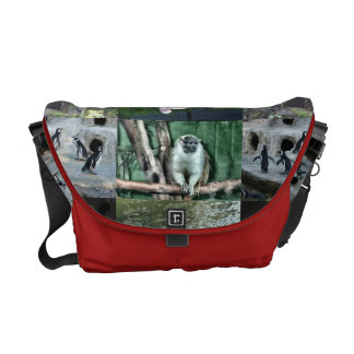 La bolsa de mensajero del carrito de la fauna bolsa de mensajería