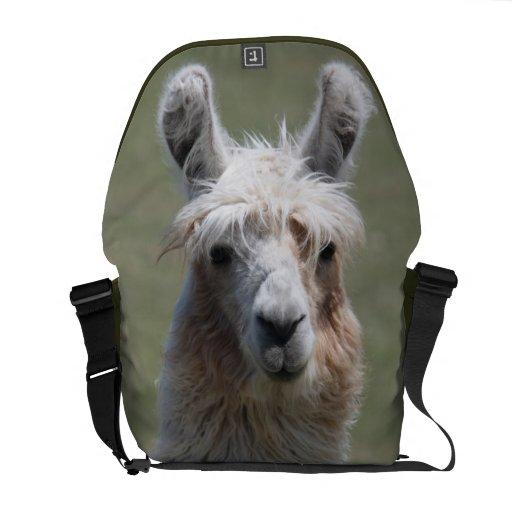 La bolsa de mensajero del carrito de la llama bolsas messenger