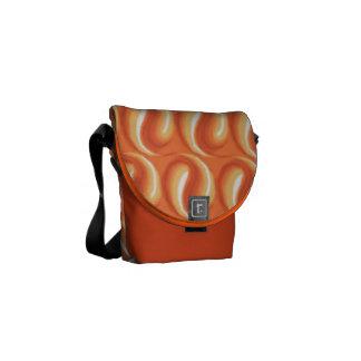 La bolsa de mensajero del carrito de la mandarina bolsa de mensajería
