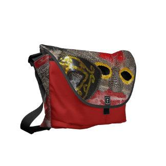La bolsa de mensajero del carrito de la mascarada bolsa de mensajeria