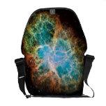 La bolsa de mensajero del carrito de la nebulosa d bolsa de mensajería