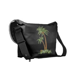 La bolsa de mensajero del carrito de la palmera bolsa de mensajería