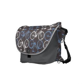 La bolsa de mensajero del carrito de las bicis bolsa de mensajería