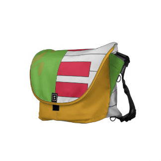 La bolsa de mensajero del carrito de las llaves bolsa messenger