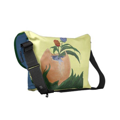 La bolsa de mensajero del carrito de los huevos de bolsas de mensajeria