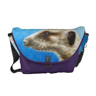 La bolsa de mensajero del carrito de Meerkat Bolsas De Mensajería