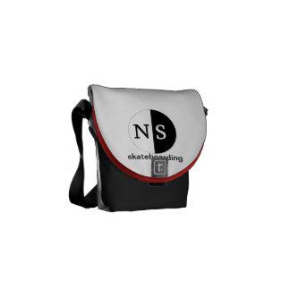 La bolsa de mensajero del carrito de Niteshift Bolsas De Mensajería