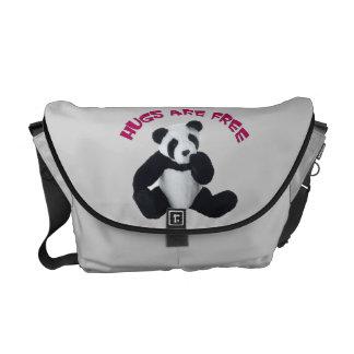 La bolsa de mensajero del carrito del abrazo de la bolsas de mensajería