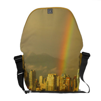 La bolsa de mensajero del carrito del arco iris de bolsa messenger