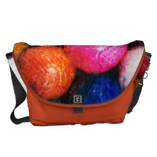 La bolsa de mensajero del carrito del arte de bolsas de mensajería