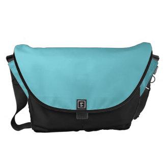 La bolsa de mensajero del carrito del azul de ciel bolsas de mensajeria