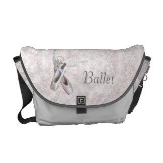 "La bolsa de mensajero del carrito del ""ballet y de bolsa messenger"