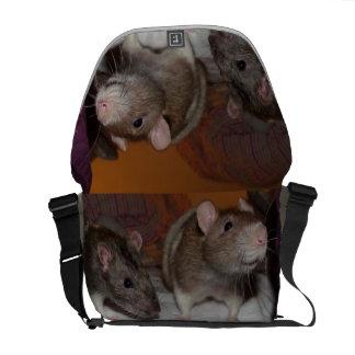 La bolsa de mensajero del carrito del bolso de la bolsas messenger