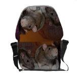 La bolsa de mensajero del carrito del bolso de la bolsa de mensajeria