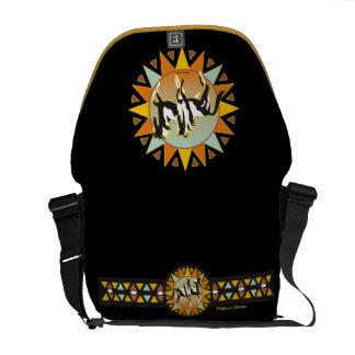 La bolsa de mensajero del carrito del caballo de l bolsa de mensajeria