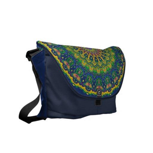 La bolsa de mensajero del carrito del caleidoscopi bolsas de mensajería
