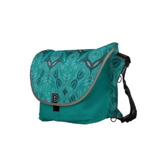 La bolsa de mensajero del carrito del damasco del  bolsa de mensajeria