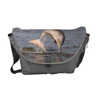 La bolsa de mensajero del carrito del delfín bolsa messenger