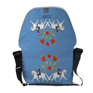 La bolsa de mensajero del carrito del diseñador de bolsa de mensajería
