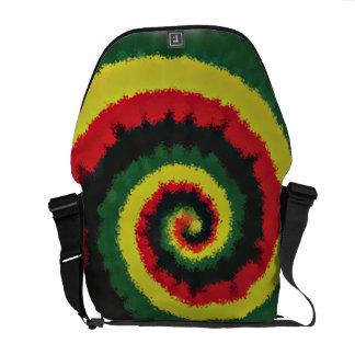 La bolsa de mensajero del carrito del espiral de R Bolsa De Mensajería