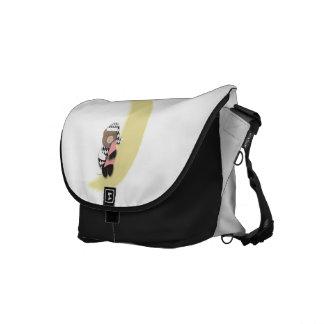 La bolsa de mensajero del carrito del oso el dormi bolsa de mensajería