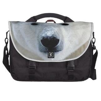 La bolsa de mensajero del carrito del oso polar bolsas para portatil