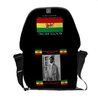 La bolsa de mensajero del carrito del reggae de Ra Bolsa De Mensajería