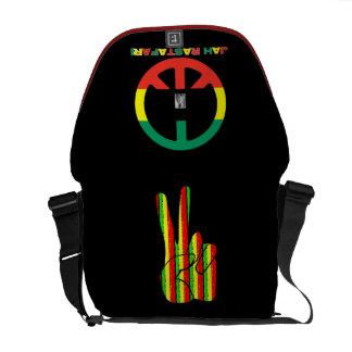 La bolsa de mensajero del carrito del reggae de Ra Bolsa Messenger