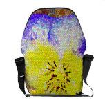 La bolsa de mensajero del carrito del vitral del p bolsa de mensajeria