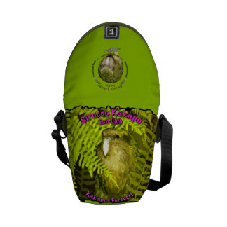 La bolsa de mensajero del club de fans del Kakapo  Bolsas De Mensajeria